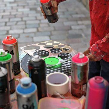 PARIS 12 : Les cours de street art