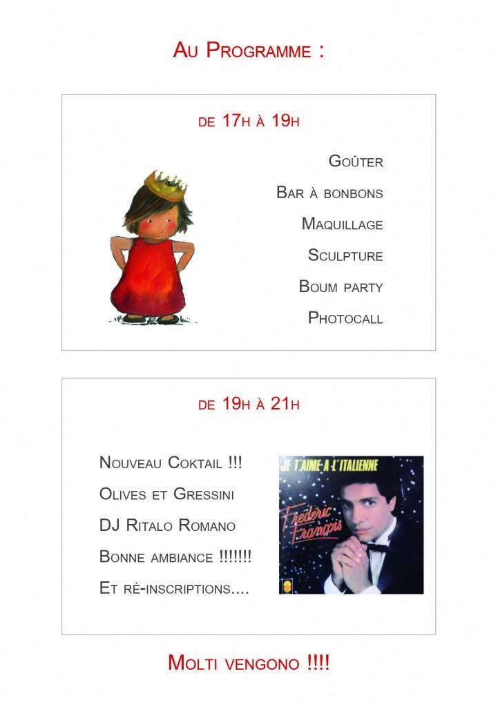 Programme fête 17 juin paris 17
