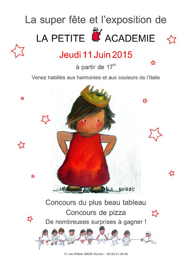 la fête de la petite académie de Nantes 11 juin