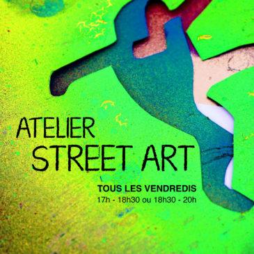PARIS 12 : DU STREET ART TOUS LES VENDREDIS ! 17h-18h30 ou 18h30-20h