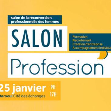 SALON PROFESSION'L À LILLE LE 24 JANVIER