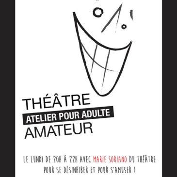 PARIS 12 : Les cours de théâtre adulte